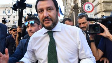 """Samedi soir, Salvini annonçait la couleur : """"Le bon temps pour les clandestins est fini""""."""