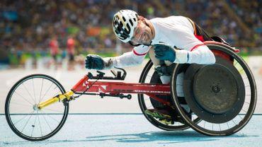 Peter Genyn améliore son propre record du monde du 200 mètres en chaise