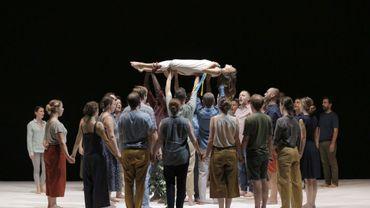 """Requiem"""" de Mozart , mise en scène de Romeo Castellucci"""