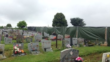 Les travaux du cimetière d'Hornu incommodent les visiteurs