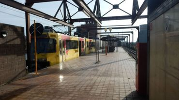 La station de métro Providence à Marchienne-au-Pont