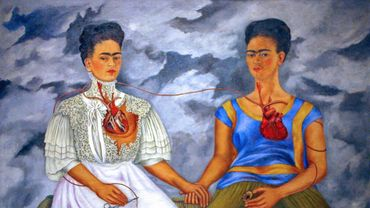 """""""Las dos Fridas"""", de la femme artiste mexicaine Frida Khalo."""