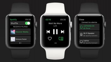Spotify : L'application officielle pour l'Apple Watch est disponible