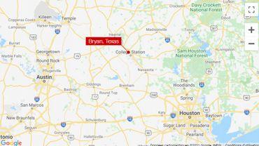 La fusillade a eu lieu à Bryant au Texas