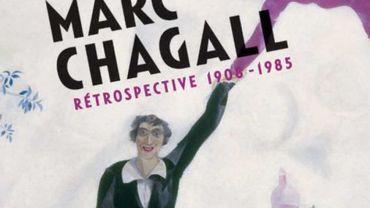 La rétrospective Chagall à Bruxelles passe le cap des 100.000 visiteurs