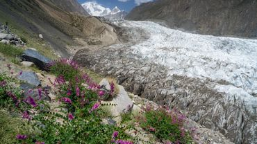 La fonte des glaciers, aussi inquiétante que celle des calottes polaires.