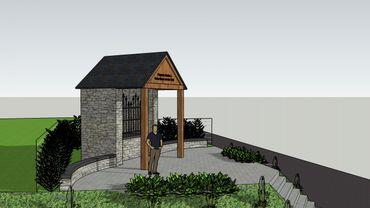 La nouvelle chapelle devrait être construite assez rapidement