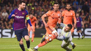 Messi au duel avec Lopes