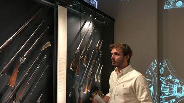 Fusils de chasse, pistolets, Winchester... Au total, 600 pièces sont exposées, dont certaines remontent au 16e siècle.