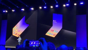 Le Galaxy Fold 2 de Samsung pourrait coûter moins de 1000 dollars