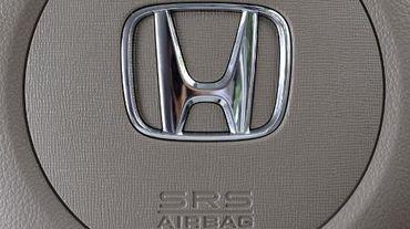 Un airbag dans un véhicule Honda, le 15 juin 2015