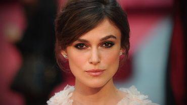 "Toute jeune mariée, Keira Knightley brillera fin 2013 dans le thriller ""Jack Ryan"" de Kenneth Branagh."