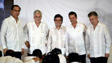 Les quatre pays de l'Alliance du Pacifique, le Mexique, le Chili, la Colombie et le Pérou, ont convenu de chercher une meilleure intégration avec le Mercosur