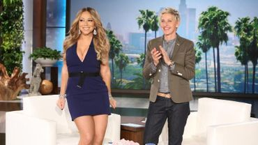 """Mariah Carey sur le plateau de 'The Ellen DeGeneres Show"""""""