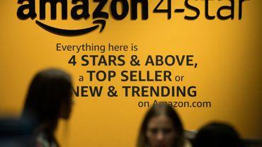 Amazon a ouvert à New York une boutique avec ses produits les mieux notés, dans le quartier Soho, le 27 septembre 2018