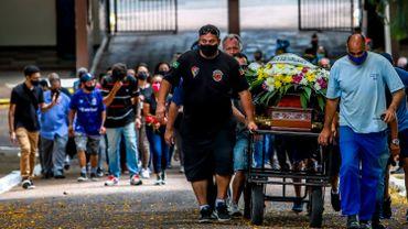 L'enterrement de Joao Alberto Silveira Freitas
