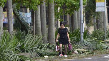 Le typhon Nesat provoque des inondations et fait des blessés à Taïwan