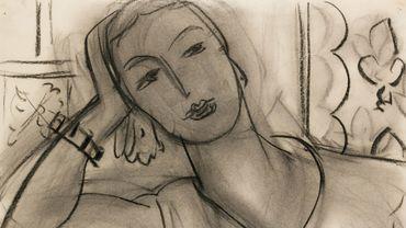 Portrait de Mary Hutchinson par Henri Matisse.