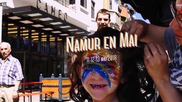 Le festival Namur en mai se déroulera les 11, 12 et 13 mai, dans les rues de la capitale wallonne.