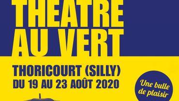 L'affiche du festival Théâtre au Vert
