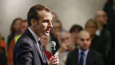 """Le président français a répondu aux questions des citoyens à Bourg-de-Péage, près de Valence, dans le cadre du """"Grand Débat National""""."""