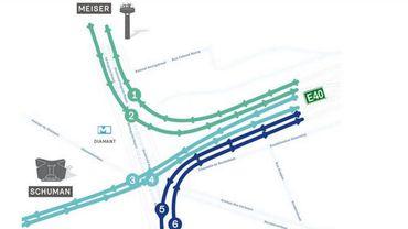 Ce vendredi matin, c'est la dernière fois que vous passez dans le tunnel Reyers en direction de Meiser. Des itinéraires alternatifs sont proposés durant les travaux.