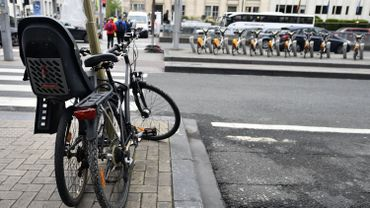"""Bruxelles: une infirmière à vélo renversée chaussée de Haecht: """"On a des sueurs froides tous les jours"""""""