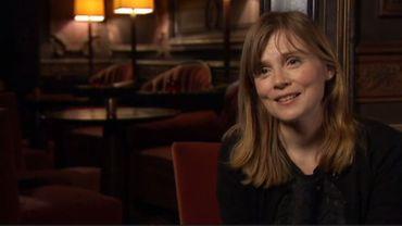 Isabelle Carré au micro de Jean-Marc Panis