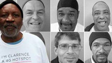 """Clarence et d'autres SDF qui participent à """"Homeless Hotspots"""""""
