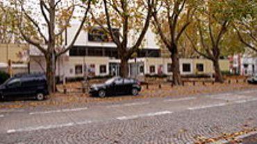 L'ancien site du Théâtre de la Place, Place de l'Yser