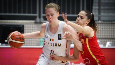 Victoire des Belgian Cats face au Montenegro