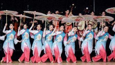 Le plus ancien festival international de danses et musiques folkloriques de Wallonie accueillait des troupes venues de six nations