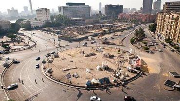 La place Tahrir au Caire, au lieu des manifestations depuis 2011, le 20 août 2013