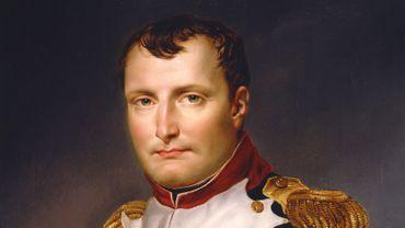 Portrait de Napoléon Bonaparte par Jacques-Lous David (1813)