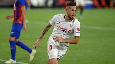La soirée de rêve de Lucas Ocampos avec le FC Séville : un but puis un arrêt décisif dans les dernières secondes.