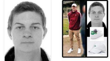 Antoine, 19 ans, a disparu depuis ce week-end à Tournai