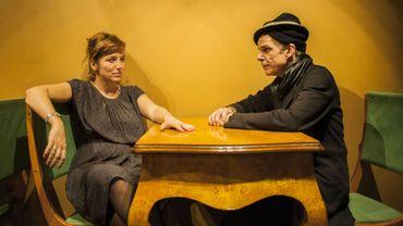 Aurore Fattier et Denis Lavant