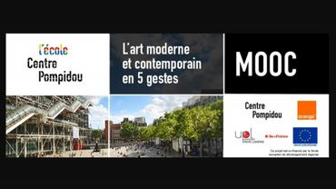 Le centre Pompidou lance son MOOC en 5 temps