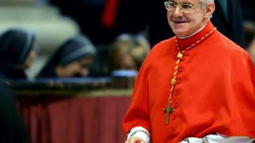 Le cardinal français Jean-Louis Tauran, le 9 février 2005 au Vatican, à Rome