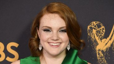 Shannon Purser aux 69th Emmy Awards en 2017