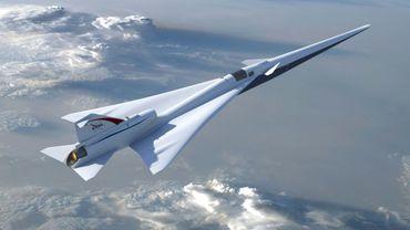 Le futur X-plane de la NASA destiné à prouver que l'on peut franchir le mur du son presque sans un bruit