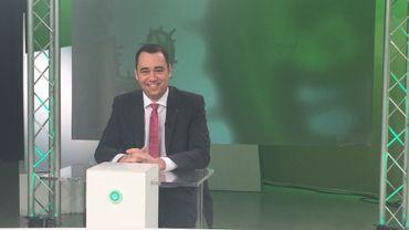 """Maxime Prévot, invité de l'émission """"Cactus"""" sur Canal C"""