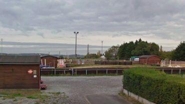 Le centre équestre d'Ham-sur-Sambre.