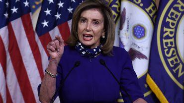 """Présidentielle américaine 2020 : """"Il ne devrait pas y avoir de débats"""", dit Nancy Pelosi"""