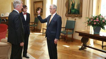 Geert Bourgeois a prêté serment devant le Roi