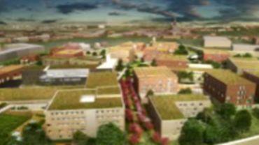 Le futur complexe de Haren devrait pouvoir accueillir quelque 1200 détenus.