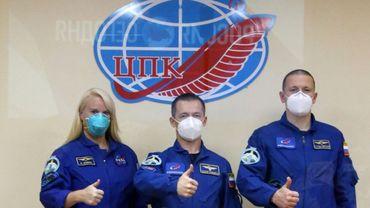 Deux Russes et une Américaine décollent pour l'ISS à bord d'une fusée Soyouz