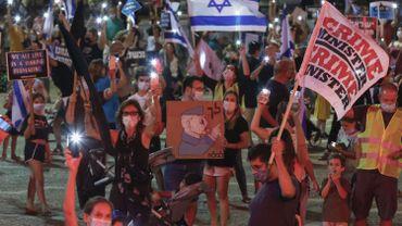 Israël: après la levée des restrictions, nouvelles manifestations anti-Netanyahu