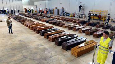 Lampedusa: plus de 80 nouveaux corps ont été remontés à la surface