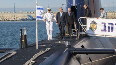 Israël prend livraison de son cinquième sous-marin allemand